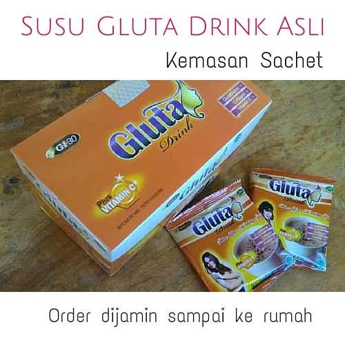 Gluta drink sachet asli manfaat lebih dengan harga terjangkau