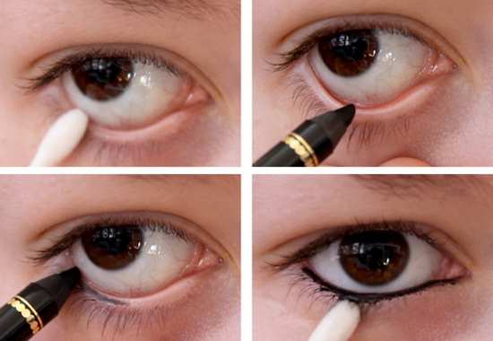 gambar eyeliner yang bagus untuk waterline