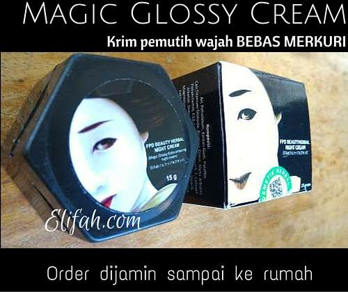 krim pemutih bebas merkuri magic glossy 2