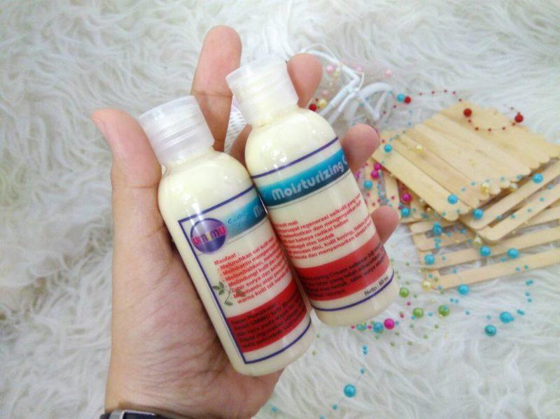 Umimu Moisturizing Cream bebas merkuri dan bahan berbahaya lainnya