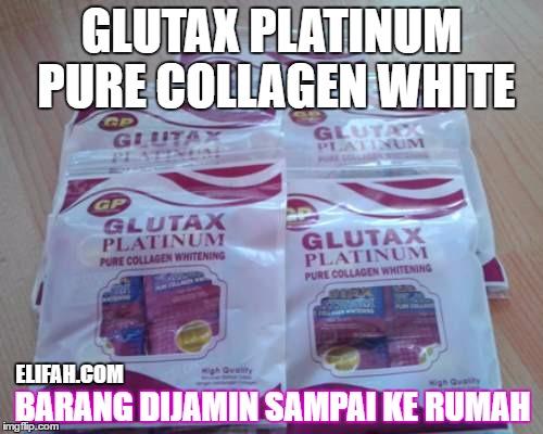 Glutax platinum kemasan baru plastik isi 12 saset 2