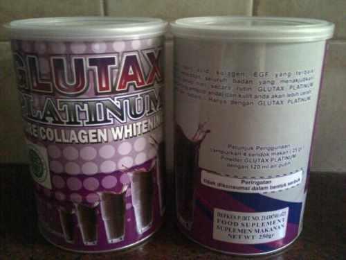 Glutax platinum kaleng isi banyak harga murah