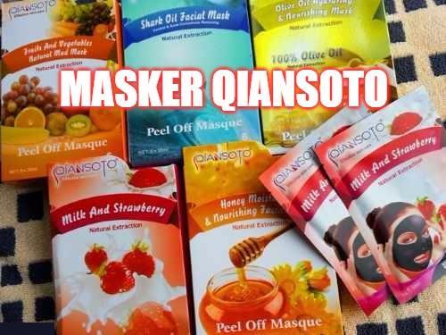 masker qiansoto dengan 5 varian