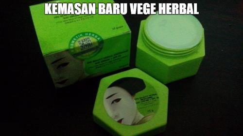 vege herbal kemasan baru