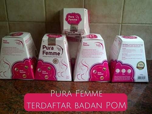 pura femme obat pembesar payudara ampuh dan aman