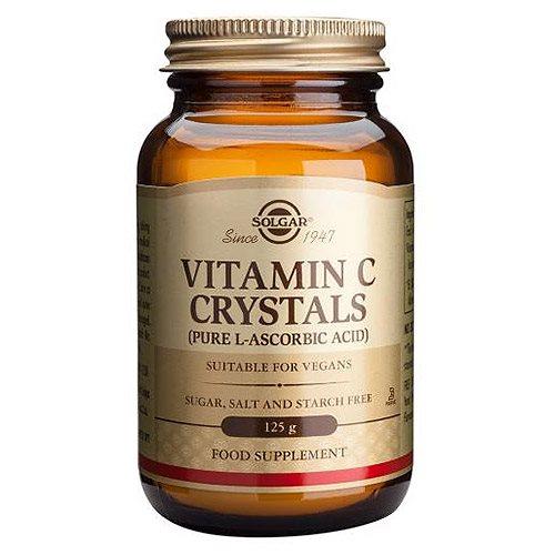 L-ascrobic acid dikemas dalam bentuk kristal yang sering digunakan sebagai bahan pembuatan serum vitamin c