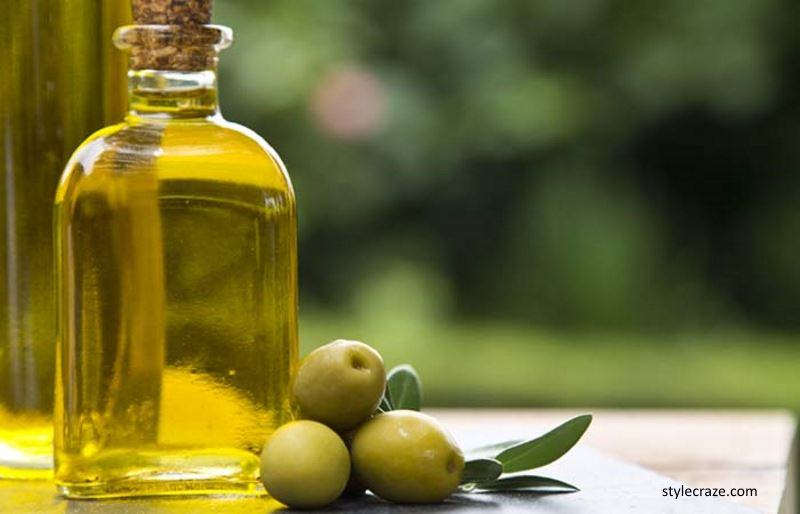 Gambar minyak zaitun sebagai bahan sabun d'argan
