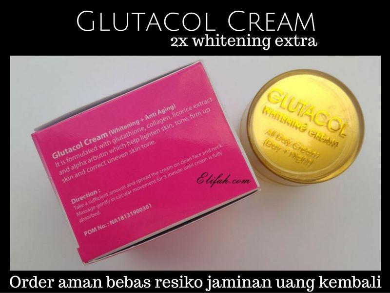 Glutacol cream all day aman terdaftar badan POM