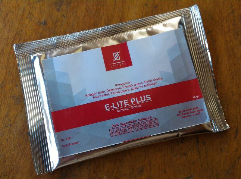 minuman susu Zelita E Lite Plus dengan kolagen 9 kali lebih kuat