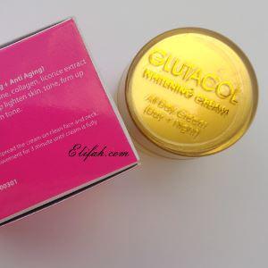 glutacol whitening cream all day